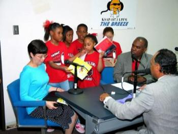 KSAP with Port Arthur schoolkids