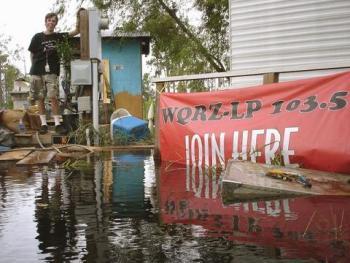 Phillips and WQRZ post-Katrina