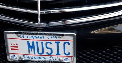 Music License Plate
